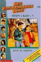 Kristy + Bart = ?