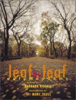 Leaf by Leaf : Autumn Poems