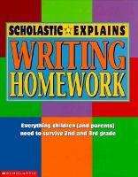Scholastic Explains Writing Homework