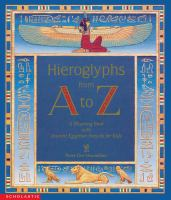 Hieroglyphs From A to Z