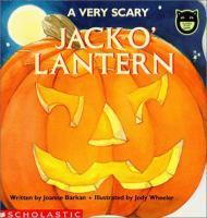 A Very Scary Jack-o'-lantern