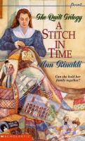 A Stitch in Time. #1