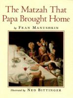 The Matzah That Papa Brought Home