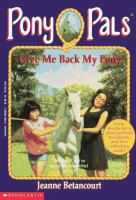 Give Me Back My Pony