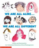 We Are All Alike-- We Are All Different