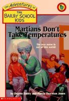 Martians Don't Take Temperatures