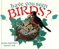 Have You Seen Birds?