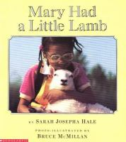 Mary Had A Little Lamb (Booking Item)