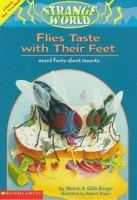 Flies Taste With Their Feet!