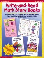 Write-and-read Math Story Books