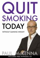 Quit Smoking Today Without Gaining Weight