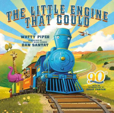 The Little Engine That Could: 90th Anniversary Edition(book-cover)