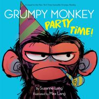 grumpy monkey party time Book Cover