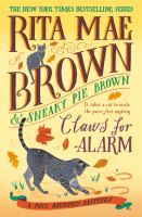 Claws for alarm(ON ORDER, PUB. DATE IS OCTOBER, 2021) pages : illustrations ; 25 centimeters.
