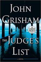 The Judge's List - Large Print