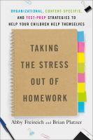 Taking the Stress Out of Homework