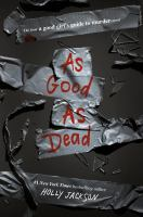 As good as dead : the final good girl%27s guide to murder novel458 pages ; 22 cm.