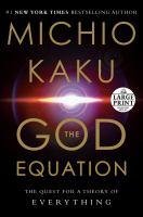 The God Equation [large Print]