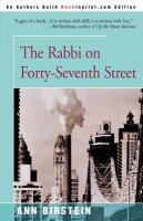 The Rabbi on Forty-seventh Street
