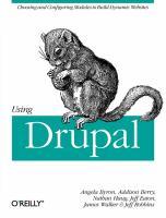 Using Drupal