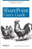 SharePoint User's Guide