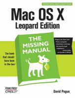 Mac OS X Leopard Edition