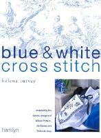 Blue & White Cross Stitch