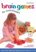 Brain Games for Pre-schoolers