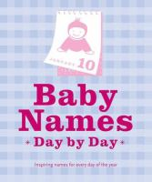 Baby Names Day by Day
