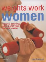 Weights Work for Women
