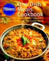 One-dish Meals Cookbook