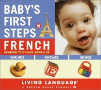 Baby's First Steps in French