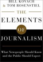 Elements of Journalism