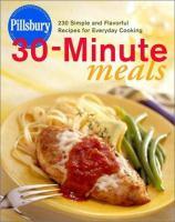 Pillsbury Thirty-minute Meals