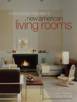 Chris Madden's New American Living Rooms