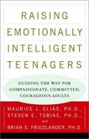 Raising Emotionally Intelligent Teenagers