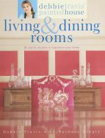 Debbie Travis' Painted House Living & Dining Rooms