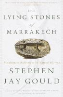 The Lying Stones of Marrakesh