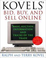 Kovel's Bid, Buy, And Sell Online