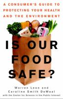 Image: Is Our Food Safe?