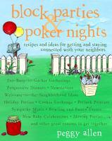 Block Parties & Poker Nights