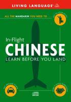 In-flight Mandarin Chinese