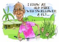 I Know An Old Mzee Who Swallowed A Fly
