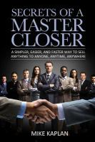 Secrets of A Master Closer
