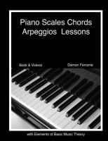 Piano Scales, Chords, & Arpeggios Lessons