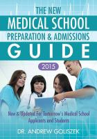 The New Medical School Preparation & Admissions Guide, 2015