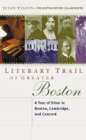 Literary Trail of Greater Boston