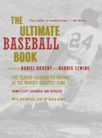 The Ultimate Baseball Book