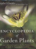 Taylor's Encyclopedia of Garden Plants
