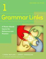 Grammar Links 1